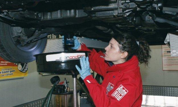 Cambio de aceite y filtros en media hora