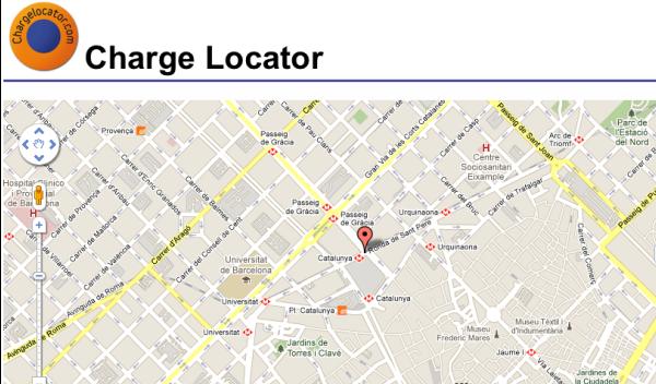 Una 'app' que te dice dónde cargar tu coche eléctrico