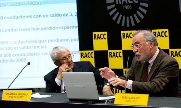 """Pere Navarro: """"el carné por puntos goza de buena salud"""""""