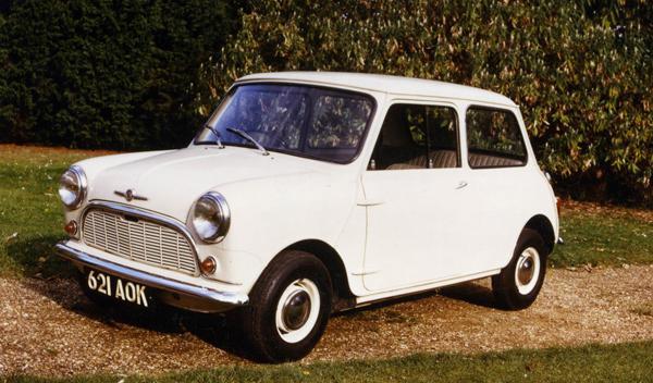El antiguo Mini, el coche preferido por los británicos