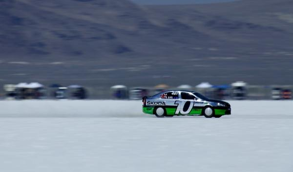 Skoda Octavia vRS 320 km/h aceleración