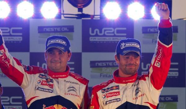 Daniel Elena y Sébastien Loeb