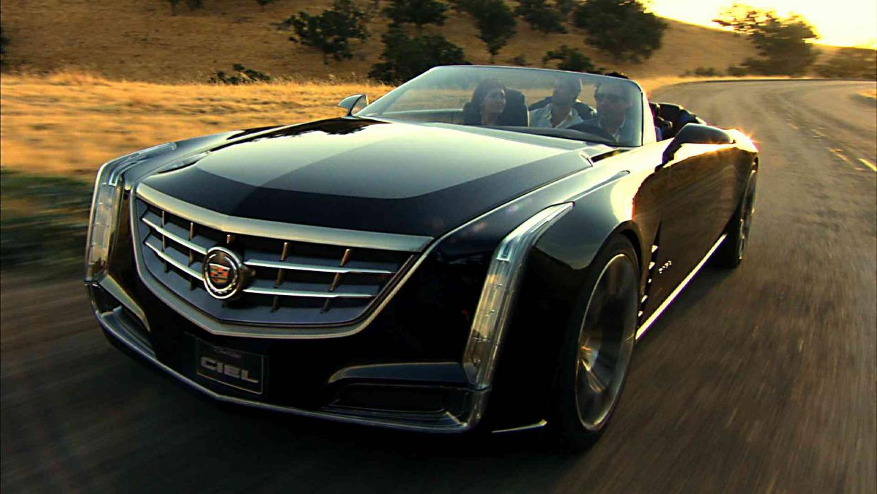Cadillac Ciel Concept frontal