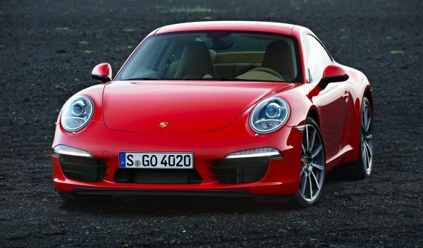 Nuevo Porsche 911 salón Frankfurt