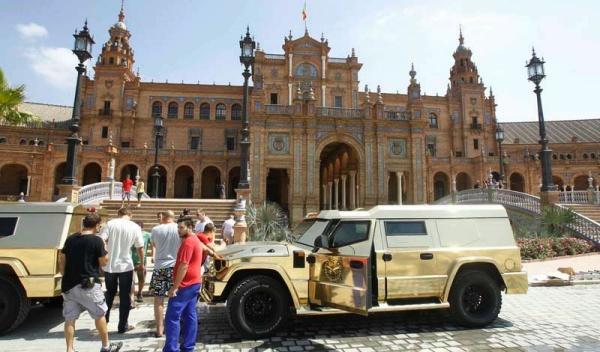 El Dartz Kombat, coche oficial de Borat en 'The Dictator'