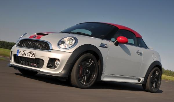 mini coupe jcw 211
