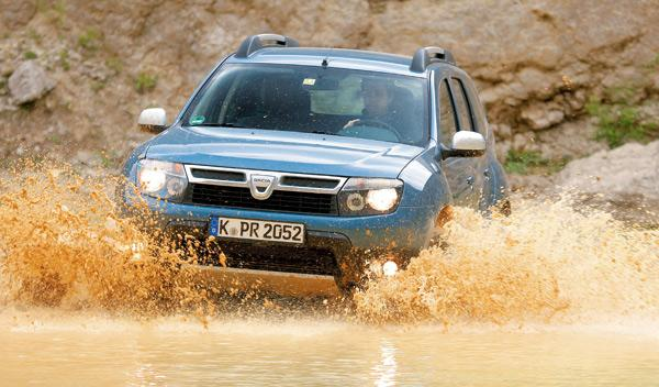 Dacia Duster laureate frontal