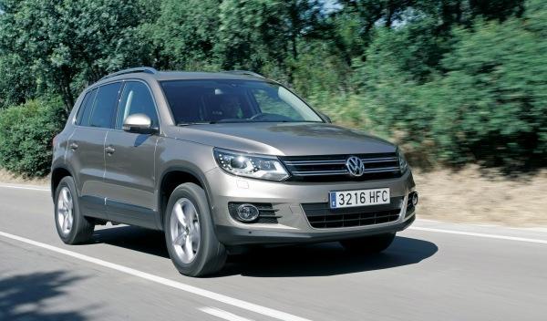 Volkswagen Tiguan Bluemotion frontal