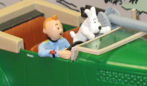 Los coches de Tintin, la película de Spielberg y Jackson