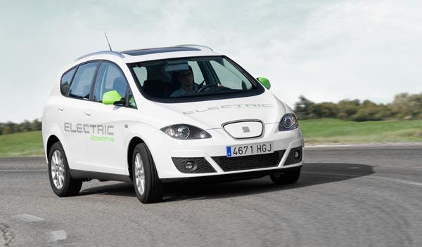 Seat Altea XL Electric Ecomotive frontal