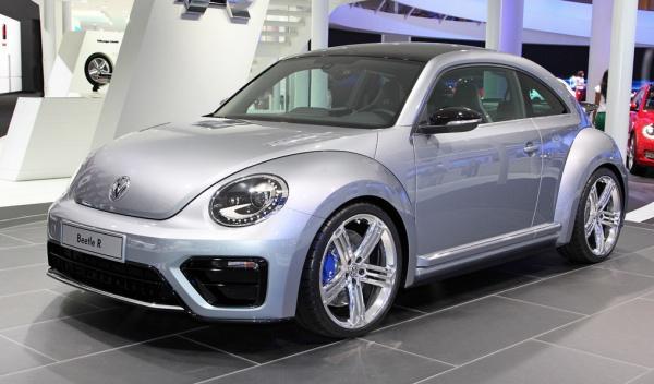 Frontal del Volkswagen Beetle R Concept