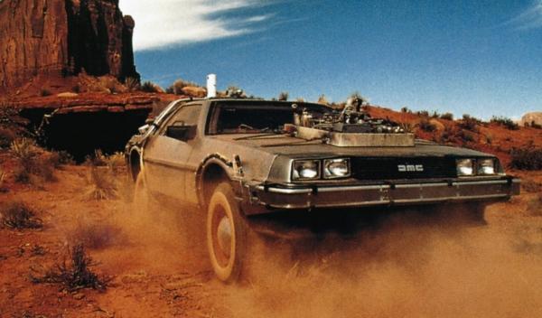 Sale a subasta el DeLorean de 'Regreso al futuro III'