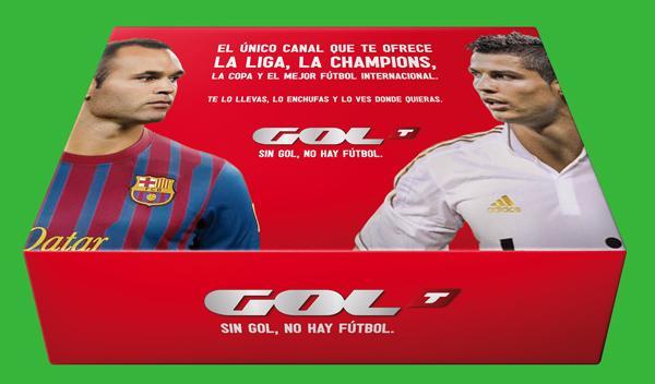 Elige tu equipo y gana un pack especial de Gol Televisión