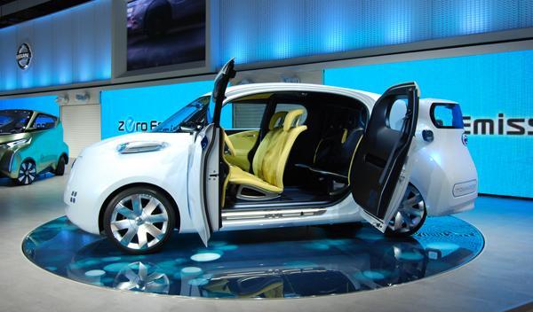 Nissan Townpod lateral. Salón de Tokio 2011