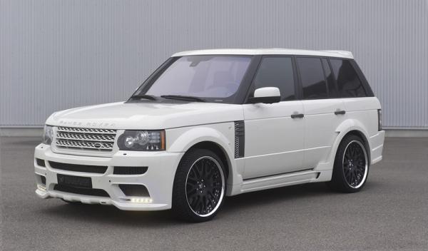 Range Rover Hamann vista delantera