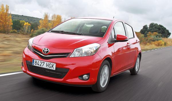 Toyota Yaris 2012 frontal