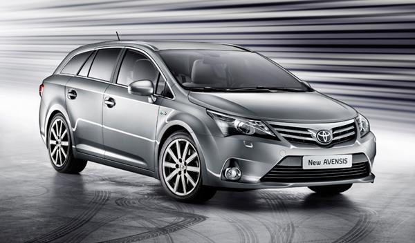 Toyota Avensis frontal