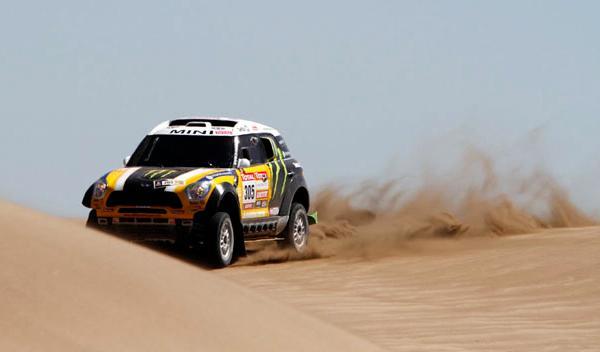 Dakar 2012 'Nani' Roma 305 Mini segunda etapa