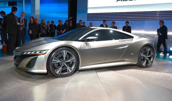 Acura NSX Concept Salon Detroit 2012