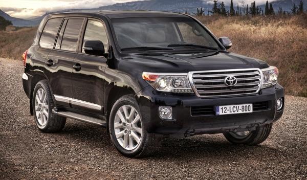 Toyota Land Cruiser 200 2012 frontal