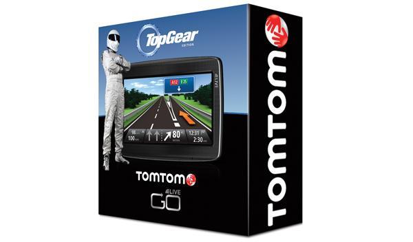 TomTom lanza un navegador edición Top Gear