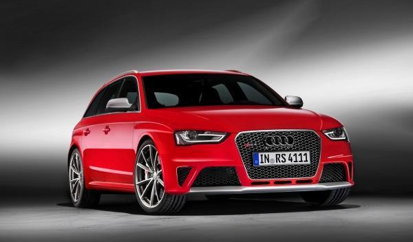 Audi RS 4 delantera