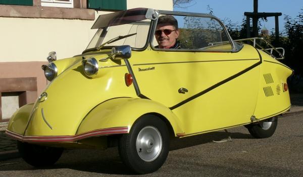 Messerschmitt KR 175: adelanto del coche urbano compacto