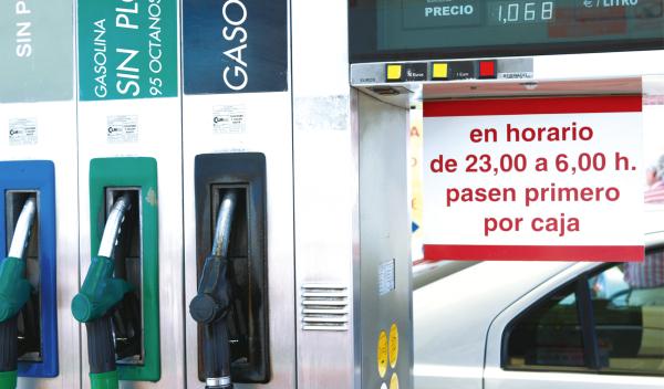 El litro de gasolina alcanza su precio máximo