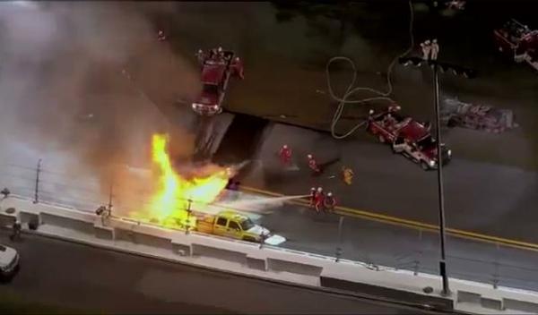 Increíble accidente de Montoya en las 500 Millas de Daytona
