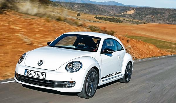 VW Beetle escarabajo 2.0 TSI 200 CV DSG dinámica delantera