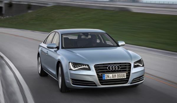 Audi A8 hybrid frontal precio