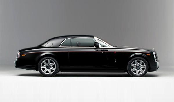Rolls-Royce Phantom Mirage perfil