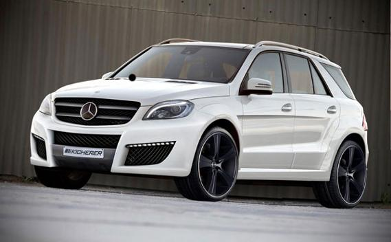 Mercedes ML por Kicherer frontal