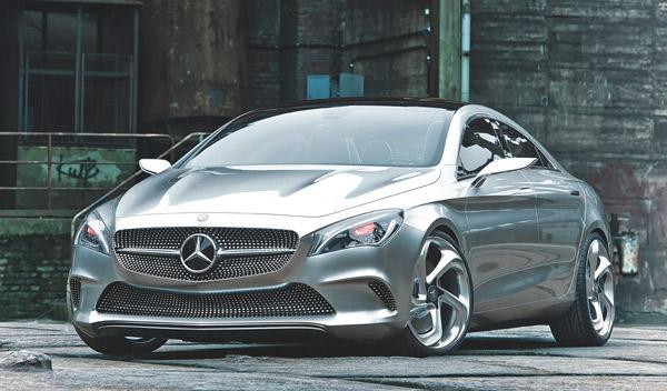 Mercedes Concept Style Coupe delantera