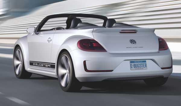 Trasera del Volkswagen E-Bugster