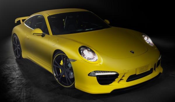 Porsche 911 Techart frontal