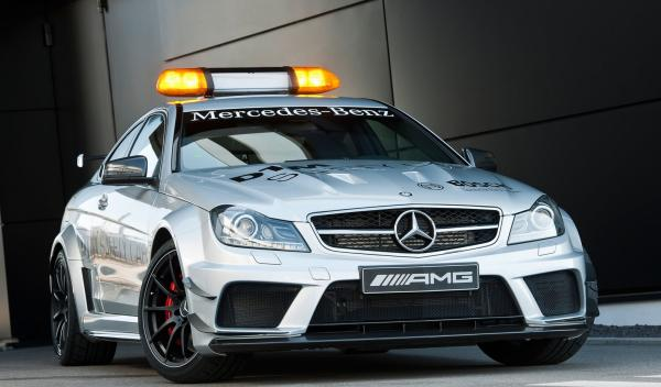 Mercedes C63 AMG Coupé Black Series DTM Safety Car
