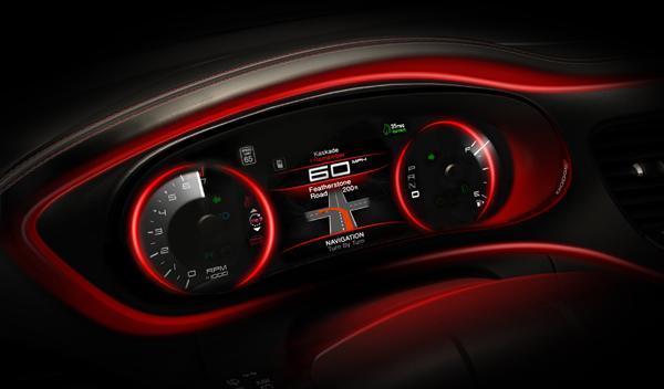El Dodge Dart 2013 revela su interior