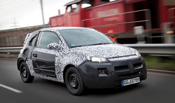 Opel Adam frontal