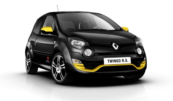 Delantera del Renault Twingo RS Red Bull Racing RB7