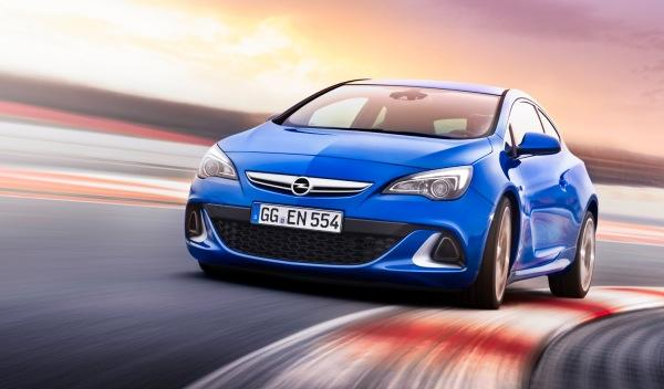 Opel Astra OPC Exterior frontal