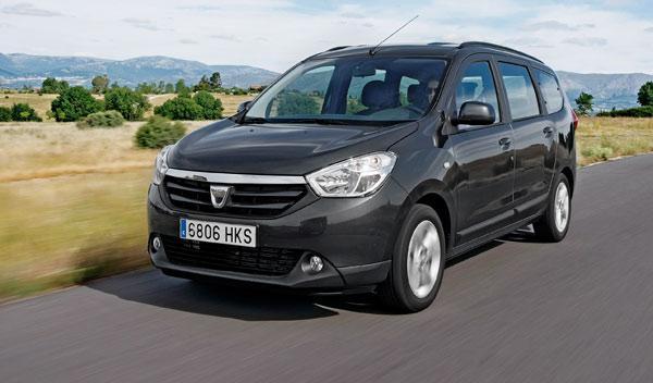 Delantera del Dacia Lodgy