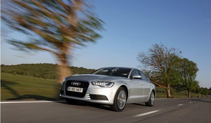 Audi A6 Hybrid exterior frontal