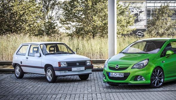 El Opel Corsa celebra su 30 cumpleaños. ¡Felicidades!