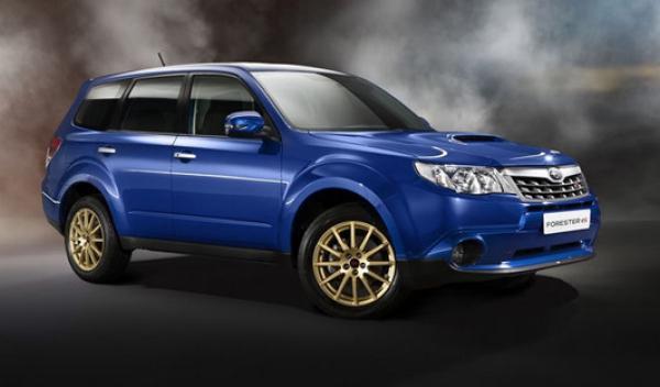 Subaru Forester TS STi, frontal