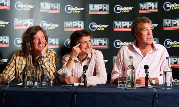 Top Gear: Clarkson, May y Hammond renuevan hasta 2015