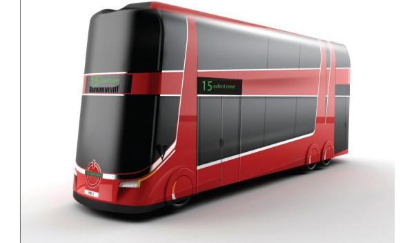 Así serán los autobuses del futuro