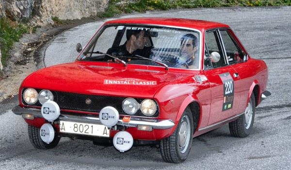 Seat 124 rally frontal