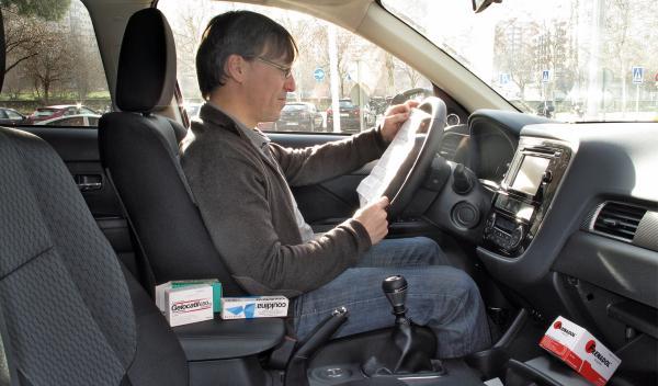 Medicamentos al volante, peligro constante