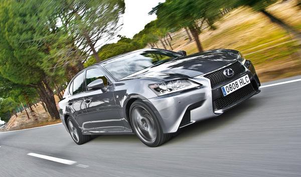 Lexus GS 450 h F-Sport delantera